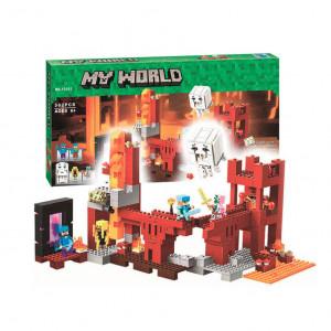 Конструктор Майнкрафт Lari My world Подземная крепость 10393