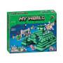 Конструктор Майнкрафт Lari My world Подводная крепость 10734
