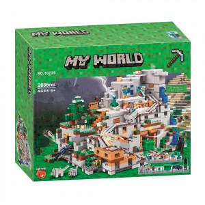 Конструктор Майнкрафт Lari My world Горная пещера 10735