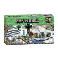 Конструктор Майнкрафт Lari My world Иглу 10811
