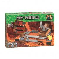 Конструктор Майнкрафт Lari My world Мини подземная железная дорога 10958