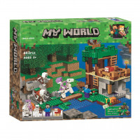 Конструктор Lari My world 10989 Майнкрафт Нападение армии скелетов