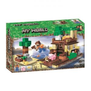 Конструктор Lari My world 11136 Майнкрафт Остров сокровищ