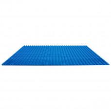 Строительная пластина для конструкторов синяя 25,5 х 25,5 см