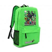 Рюкзак Minecraft «Все герои» зелёный