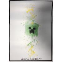 Постер Майнкрафт Minecraft 3
