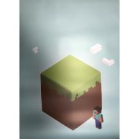 Постер Майнкрафт Minecraft 9