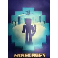 Постер Майнкрафт Майнкрафт 11