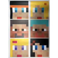 Постер Майнкрафт Майнкрафт 12