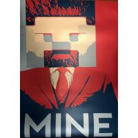 Постер Майнкрафт Майнкрафт 4