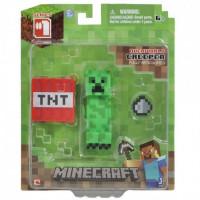 Фигурка Minecraft Крипер и ТНТ