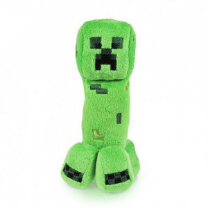 Мягкая игрушка Майнкрафт Крипер (Creeper), 19 см