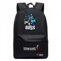 Рюкзак Майнкрафт Like a Boss (черный)