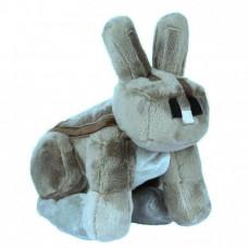 Мягкая игрушка Майнкрафт Серый кролик (Rabbit), 17см