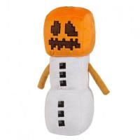 Мягкая игрушка Майнкрафт Снежный голем (Snow Golem), 18см