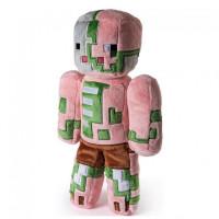 Мягкая игрушка Майнкрафт Свинозомби (Zombie Pigman), 18см