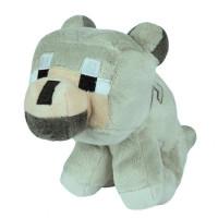 Мягкая игрушка Minecraft Волчонок (Baby Wolf), 23см