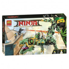 Конструктор Bela Ниндзяго Механический Дракон Зелёного Ниндзя 10718