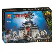Конструктор Bela Ninja Храм Последнего великого оружия 10722