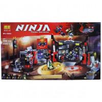Конструктор Bela Ninja Штаб-квартира Сынов Гармадона 10804