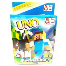 Настольная игра УНО Майнкрафт ver.2 (UNO Майнкрафт)