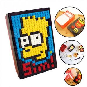 Ланчбокс DIY Lunch Box красно-черный