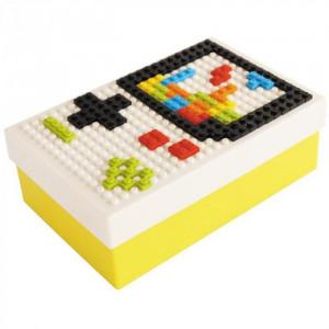 Ланчбокс DIY Lunch Box желто-белый
