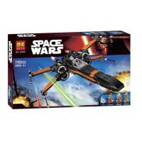 Конструктор Lari (Бела) My world Звездные войны  Истребитель 10466
