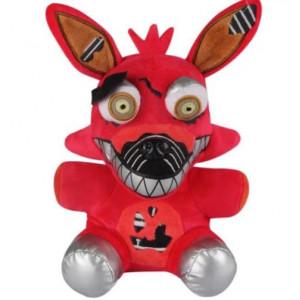 Мягкая игрушка ФНАФ Кошмарный Фокси, 18 см