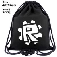Мешок для обуви Роблокс Роблокс (белое лого)