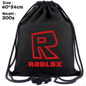 Мешок для обуви Роблокс Роблокс (красное лого)
