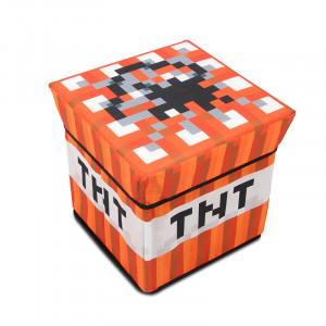 Пуфик TNT блок Майнкрафт