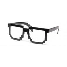 Пиксельные прозрачные очки