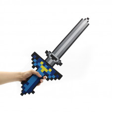 Синий меч Майнкрафт