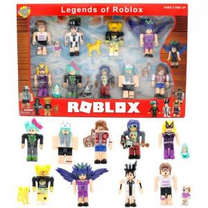 Набор из 9 фигурок Роблокс Legends of Роблокс (версия 2)
