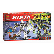 Конструктор Ниндзяго Bela Битва Титановых машин 10399