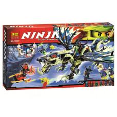 Конструктор Ninjago Bela Атака Дракона Моро 10400