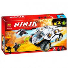 Конструктор Ninjago Bela Внедорожник титанового ниндзя 10523