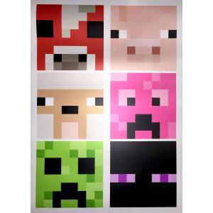 Постер Майнкрафт Майнкрафт 14