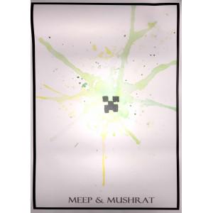 Постер Майнкрафт Майнкрафт 17
