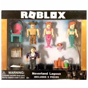 Набор из 4 фигурок Роблокс Neverland Lagoon