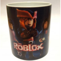Кружка Роблокс  Персонажи Роблокс меняющая цвет