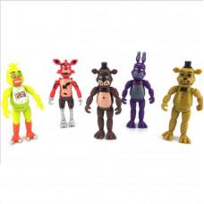 Набор 5 фигурок 14 см из 5 ночей с Фредди ФНАФ