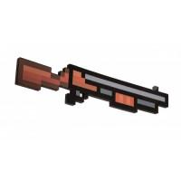Пиксельная винтовка/дробовик Майнкрафт, 80см