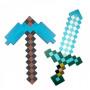 Алмазная кирка и меч Майнкрафт