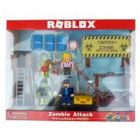 Набор из 4 фигурок Роблокс Атака зомби