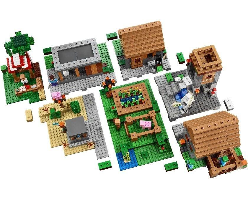 Конструктор Minecraft Bela Деревня 10531